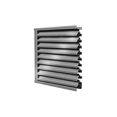 Image for DC-5304 - Hurricane Impact Resistant Louver