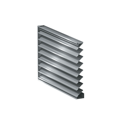 Image for DC-6174 Hurricane Impact Resistant Louver