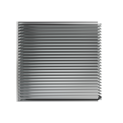 """Image for RS-4700 is a 4"""" storm resistant, mullion louver"""