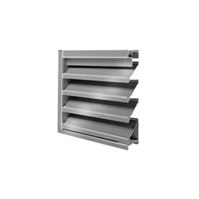 """Image for 6"""" A6097 - High Performance Drainable Fixed Louver"""