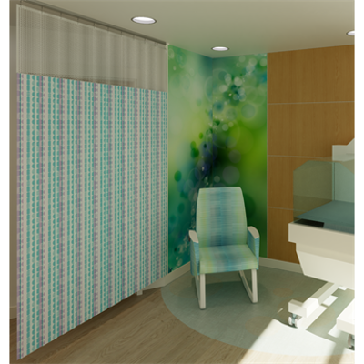 Image for HUSH Cubicle Curtains - Privacy Curtains and Track Systems