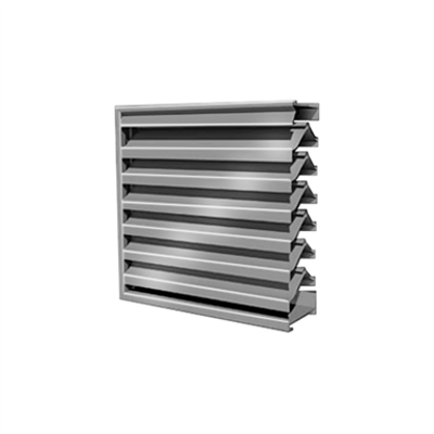 """Image for 7"""" RS-7705 Storm Resistant Louver"""