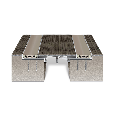"""Image for Expansion Joint Covers, Flush Twinline Floor Covers: GTRW 2""""-4"""""""