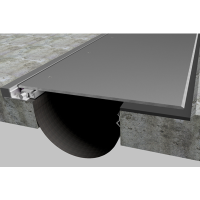 """Image for Expansion Joint Covers, Parking Garage and Stadium Covers: PTCP & PTCPW 6""""-16"""""""