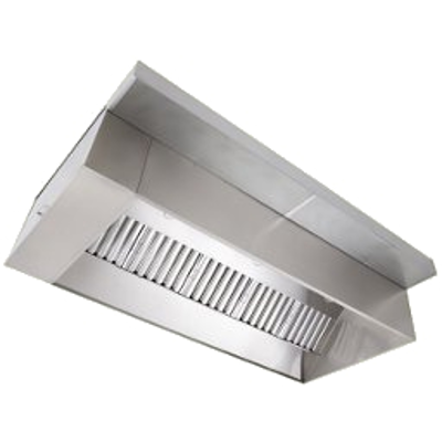 Image for Wall Canopy Exhaust Hood with Perforated Supply Plenum, ND-2 Series