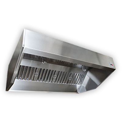Image for Sloped Wall Canopy Exhaust Hood with Perforated Supply Plenum, SND-2 Series