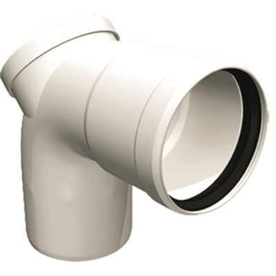 Image for OLIFLEX PPs Single Wall - ELBOW 93° WITH INSPECTION