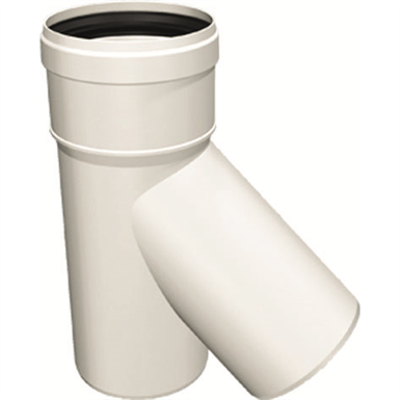 Image for OLIFLEX PPs Single Wall - TEE 45° MALE