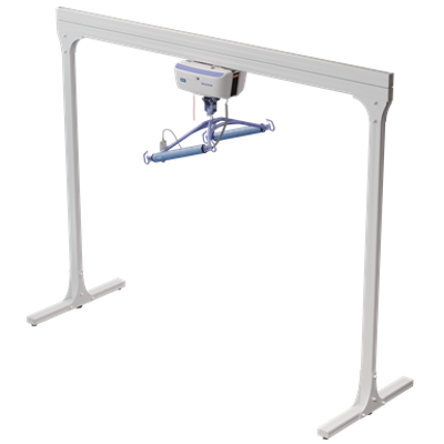 Image for Bariatric Semi-Permanent 2 Post track system with Bariatric Ceiling Lift