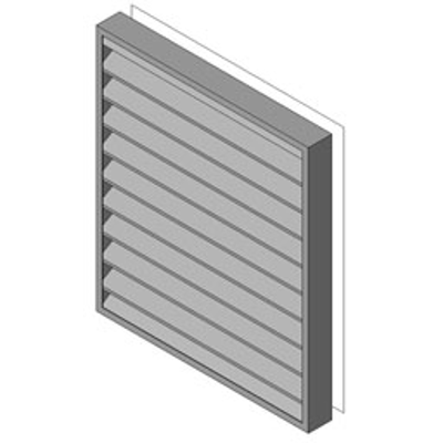 Image for Reliable-Stationary Heavyline Louver-430RBS