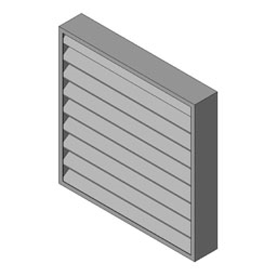 Image for Reliable-Stationary Heavyline Louver-6350DS