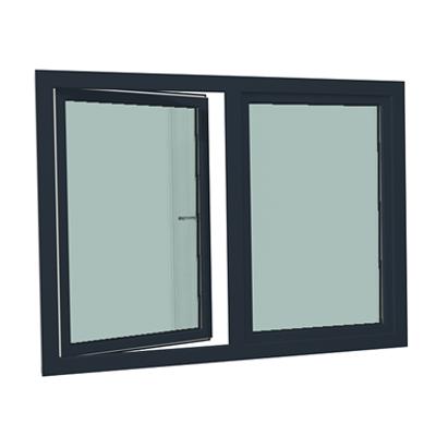 Image for S9000 Double-leaf turn tilt window