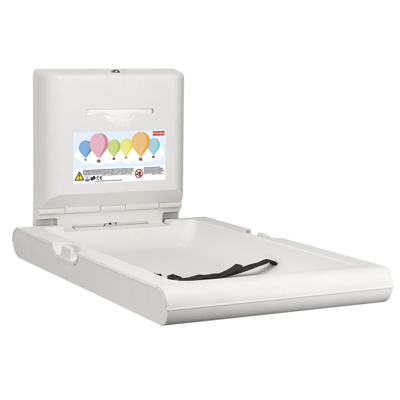 Image for CAMBRINO vertical baby changing table CAMB20VP