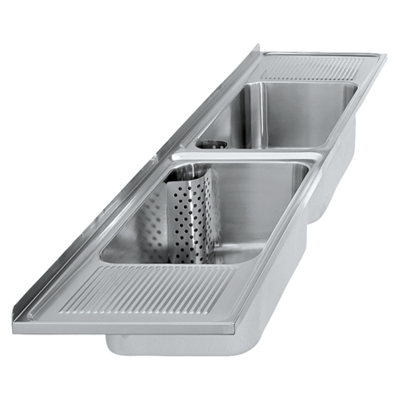 Image for SIRIUS double utility sinks BS353