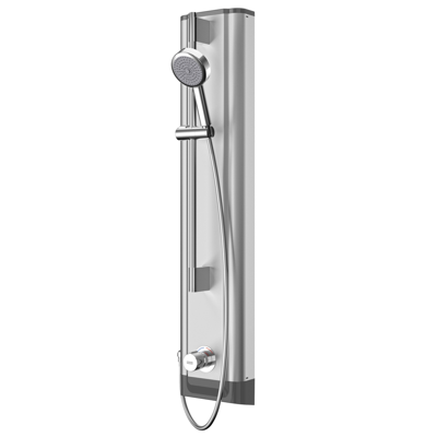 Image for FS5 Mix stainless steel shower panel with hand shower fitting F5SM2021