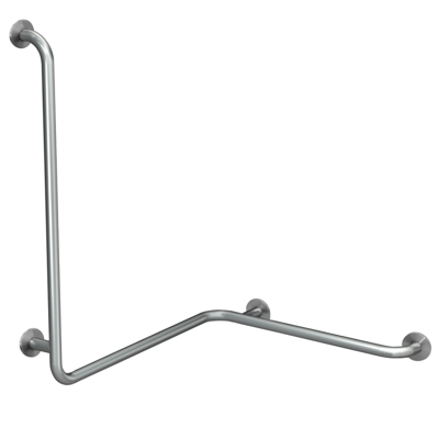 Image for CONTINA (wall-mounted) handrail for corners - right CNTX50WR