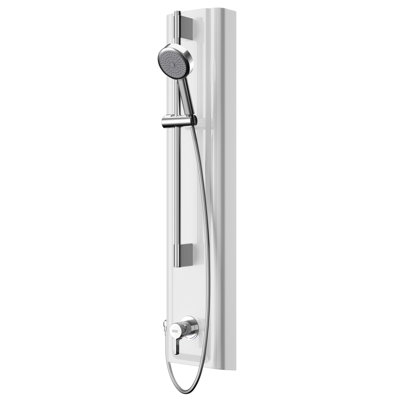 Image for F5L Mix shower panel made of MIRANIT with hand shower fitting F5LM2028