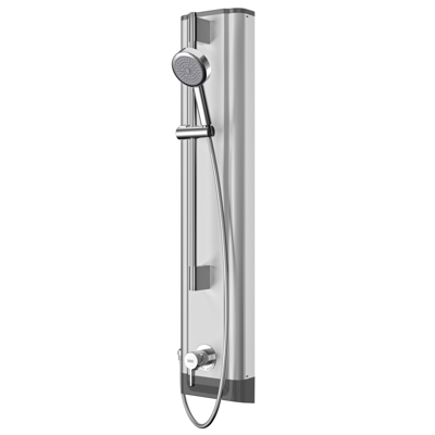 Image for F5L Mix stainless steel shower panel with hand shower fitting F5LM2023