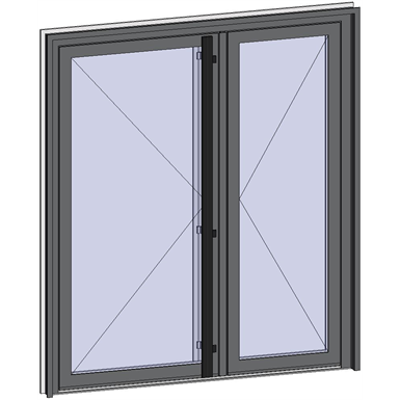 Image for Grand Trafic Doors - Double inward opening