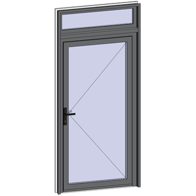 Image for Grand Trafic Doors - Single inward opening with transom