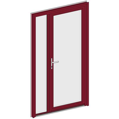 Image for Entrance door Collection Clarté - Double Unequal