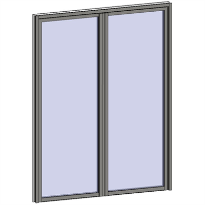 Image for Fixed Window with 2 Horizontal zones