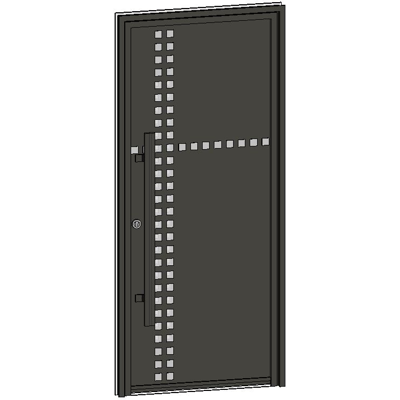 Image for Entrance door Collection Caractère PIXEL