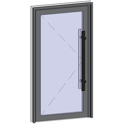 Image for Grand Trafic Doors - Single outward opening