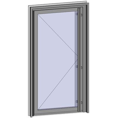 Image for Grand Trafic Doors - Anti Finger Pinch version - Single inward opening