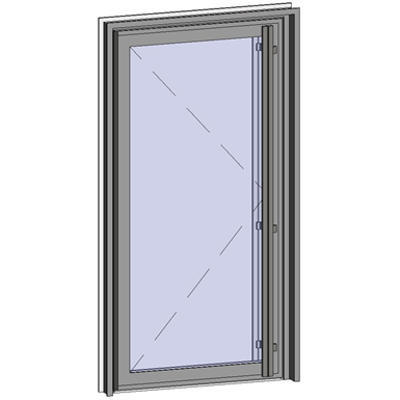Image for Grand Trafic Doors - Anti Finger Pinch version - Single outward opening