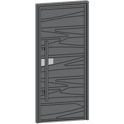 Image for Entrance door Collection Caractère GRANIT