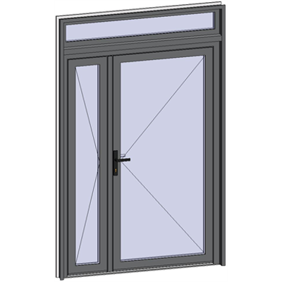 Image for Grand Trafic Doors - Double inward opening with transom