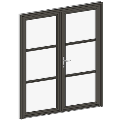 Image for Entrance door Collection Clarté - Double Equal