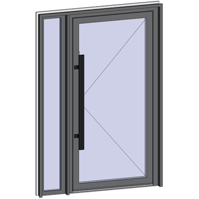 Image for Grand Trafic Doors - Single inward opening with left fixed