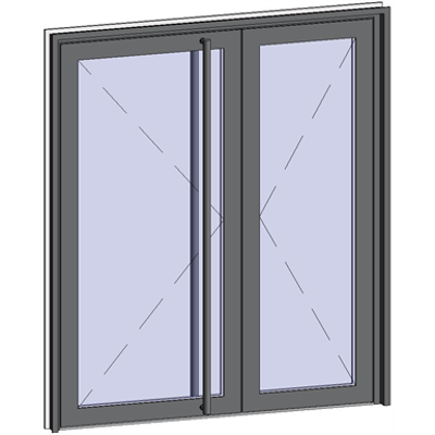 Image for Grand Trafic Doors - Double outward opening