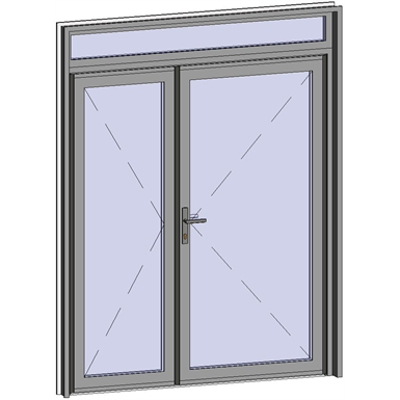 Image for Grand Trafic Doors - Anti Finger Pinch version - Double outward opening with transom