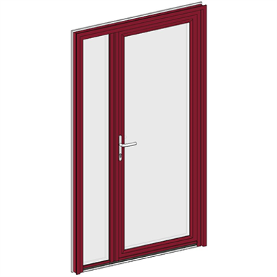 Image for Entrance door Collection KLPE - Double Unequal