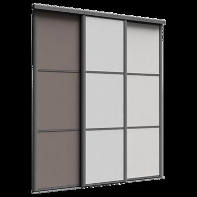 Image for Façade Reflet 3 Portes Coulissantes