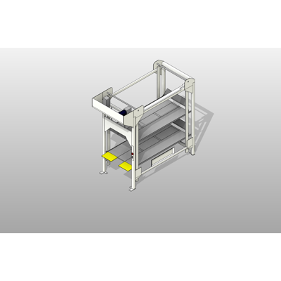Image for 3 Position Heavy Duty Hospital Bed Lift