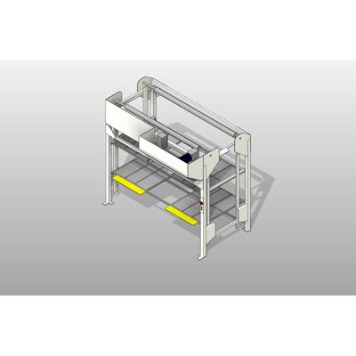 Image for 3 Position Side Load Hospital Bed Lift
