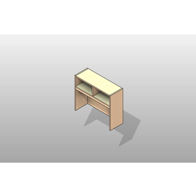 Image for Overhead Storage Executive Laminate Casework