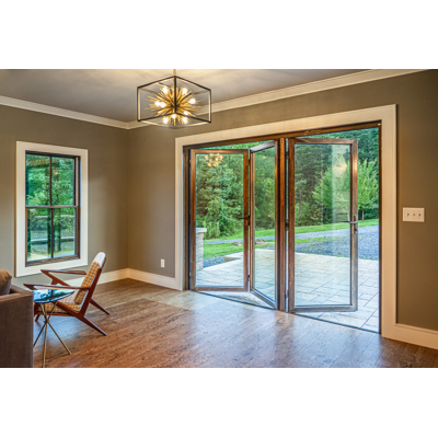 Image for AW66-HF Wood Clad Horizontal Folding Door