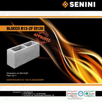 Image for EI certified concrete Blocks - fair-faced