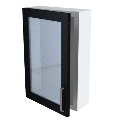 Immagine per Bath 16-60 Wall Cabinet with Glass Door