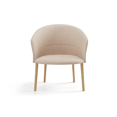 Image for Copa Lounge Chair Wooden Base