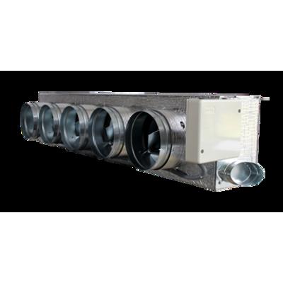 kép a termékről - Motorized plenum Galletti  standard 5 dampers