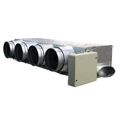Image pour Motorized plenum Hitachi low profile 4 dampers