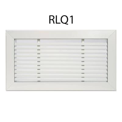 Image for Return grille of linear slats fixed at 15°_RLQ1 RLQ2 RLQV