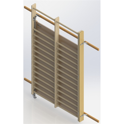 Image for Wall Bar Mirrors UNISPORT, Right