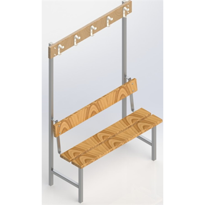 Image for Free-standing bench 1500 mm